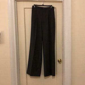 JCREW  wool blend wide leg high waist trouser